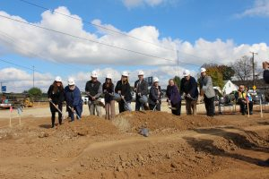 Groundbreaking ceremony at MedVet Dayton November 4th, 2016.