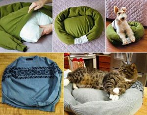 In the Market for A New Pet Bed? Get Crafty!